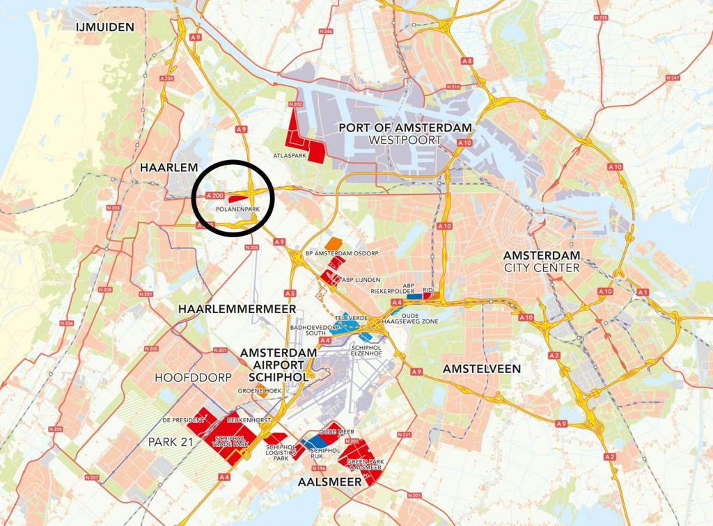 ligging PolanenPark